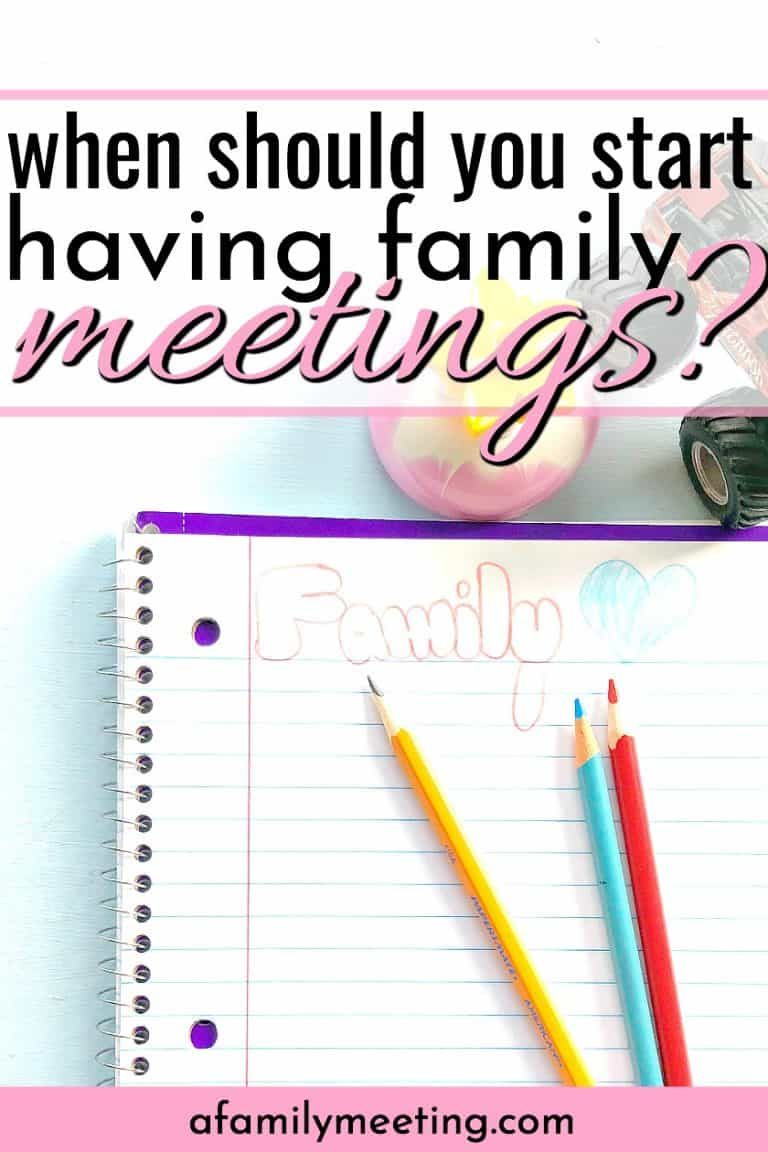 15 Reasons For A Family Meeting Every Week While Your Kids Are Little