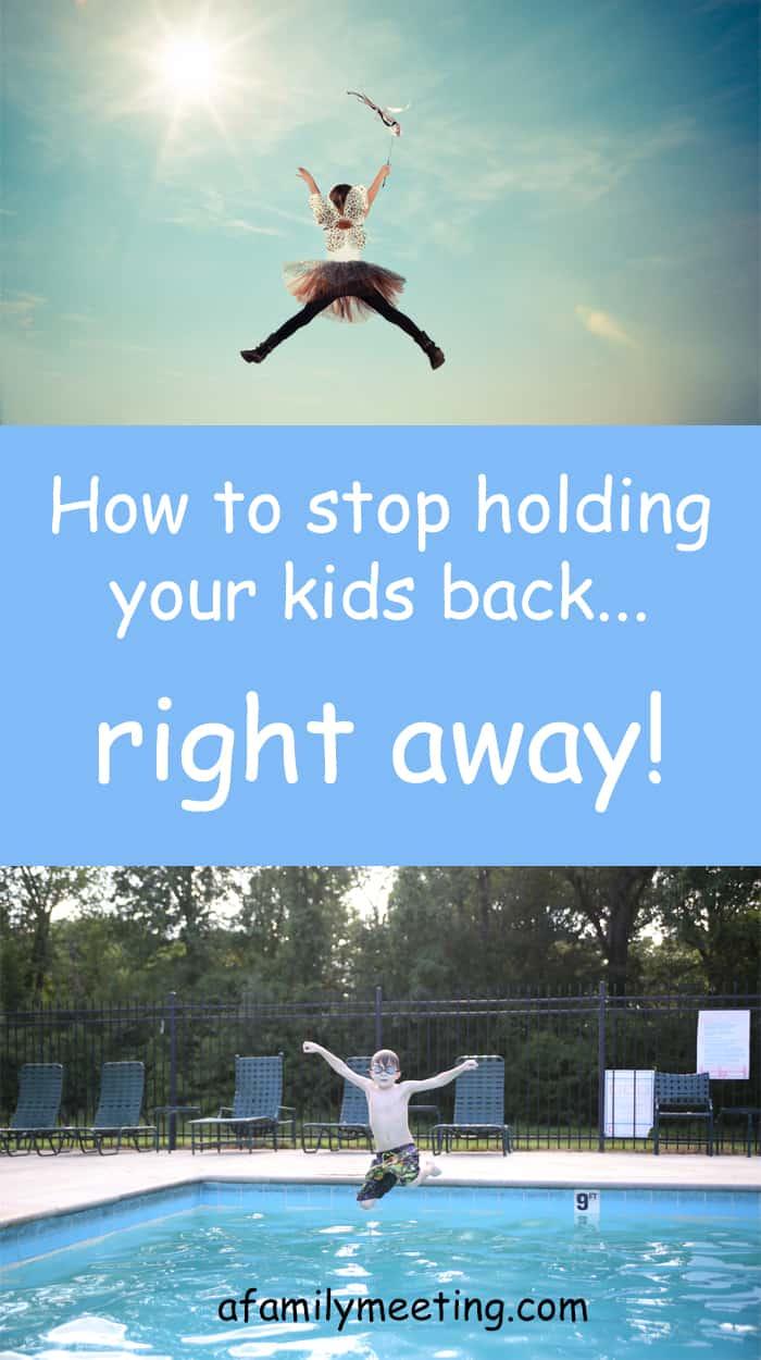 holding kids back