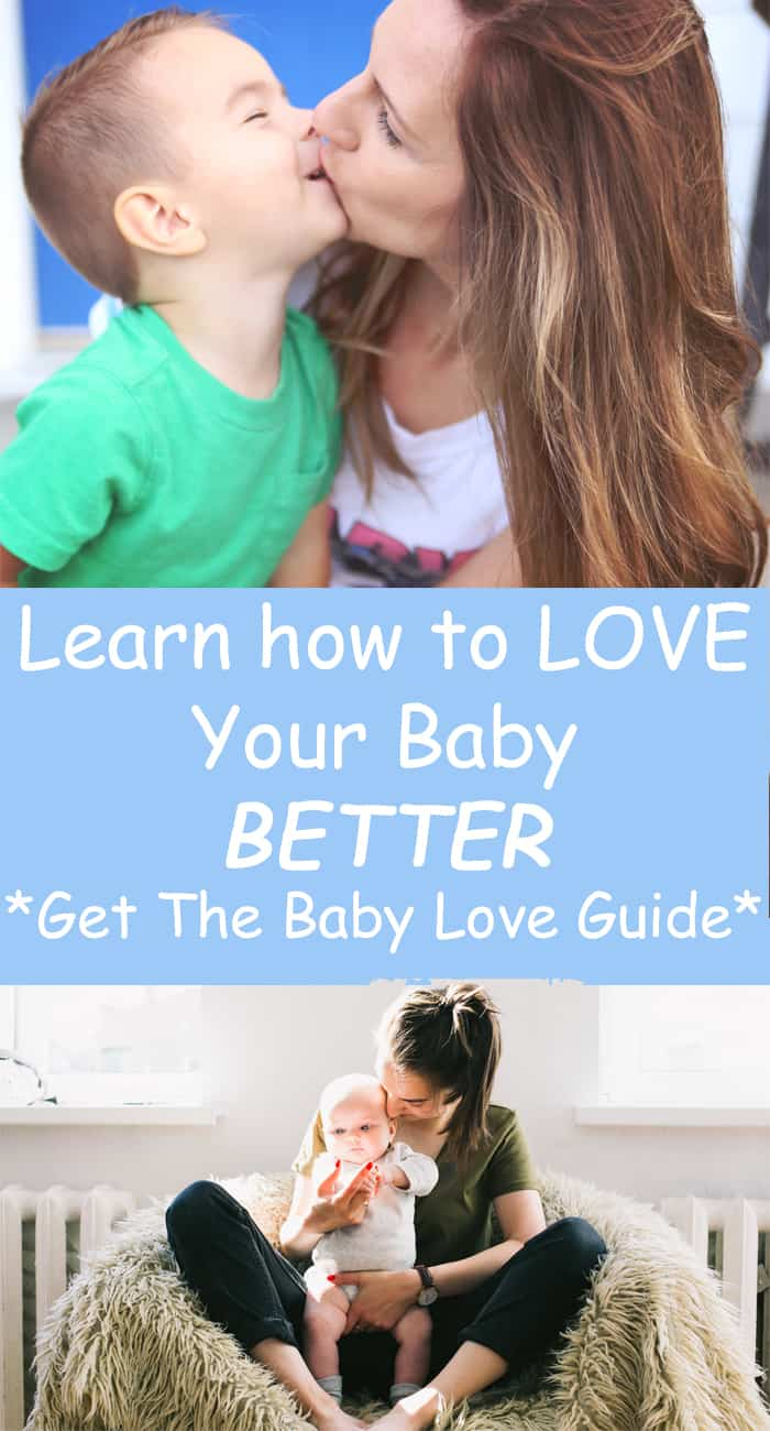 You can show your baby love better by learning how they best receive love.
