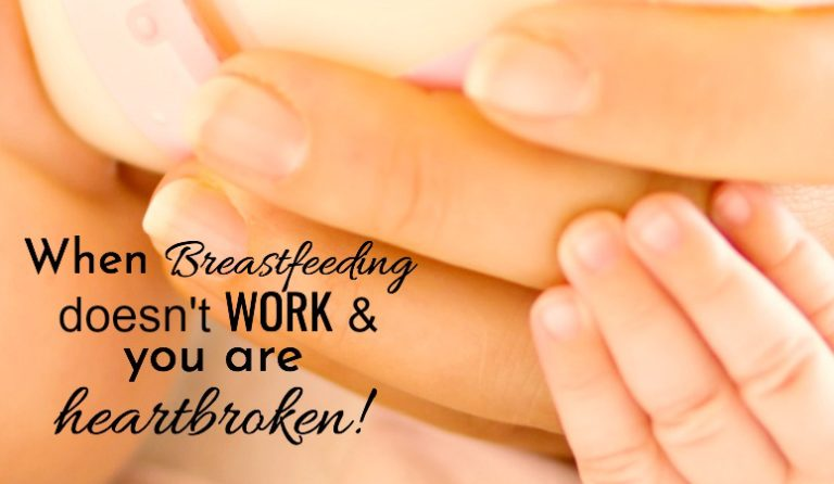 Breastfeeding Doesn't Work For You, Now What?