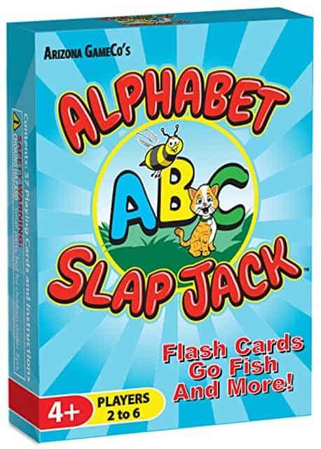 alphabet slap jack best board games for toddlers