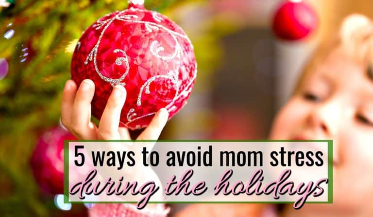 5 Ways for Moms to Relax Over Christmas