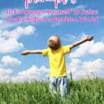 child worshipping god in an open field due to biblical parenting principles