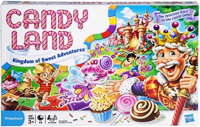 candy land best board games for toddlers