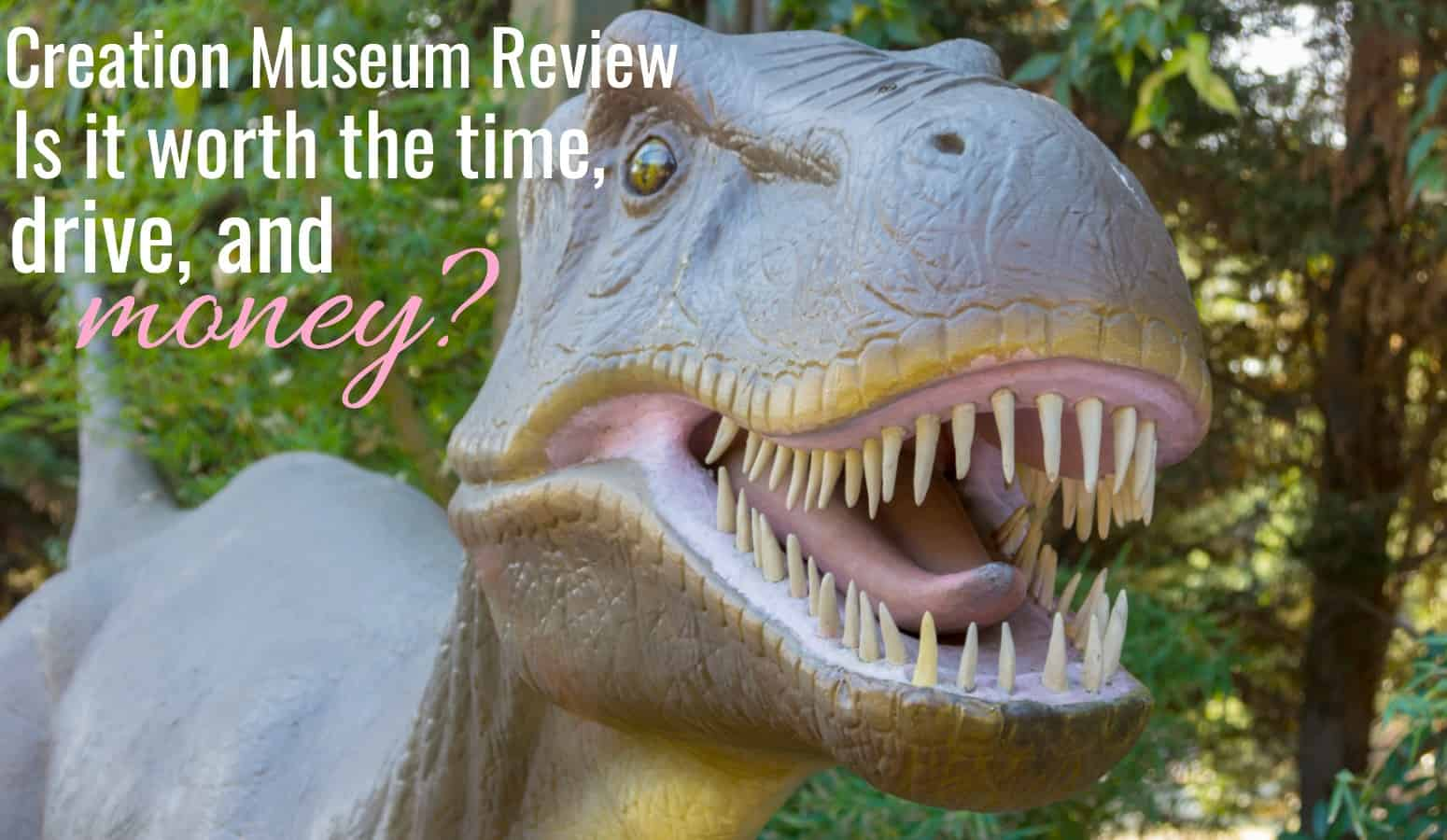 t-rex dinosaur picture for creation museum review