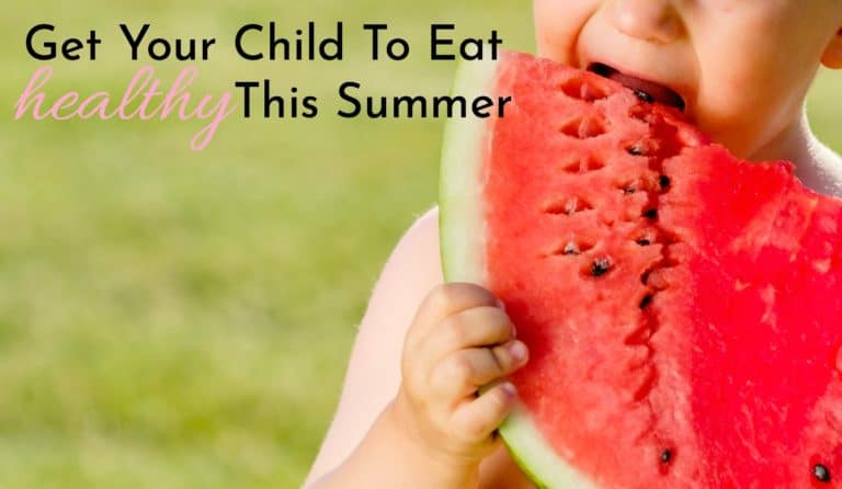 Healthy Eating Habits for Kids in the Summer!