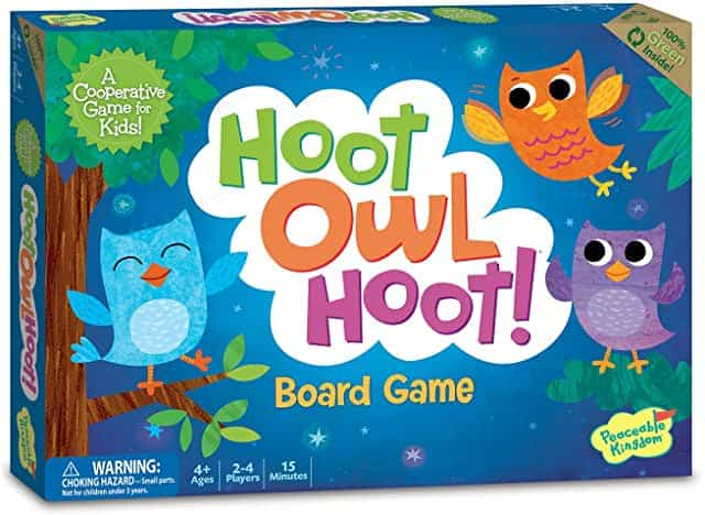 hoot owl best board games for toddlers