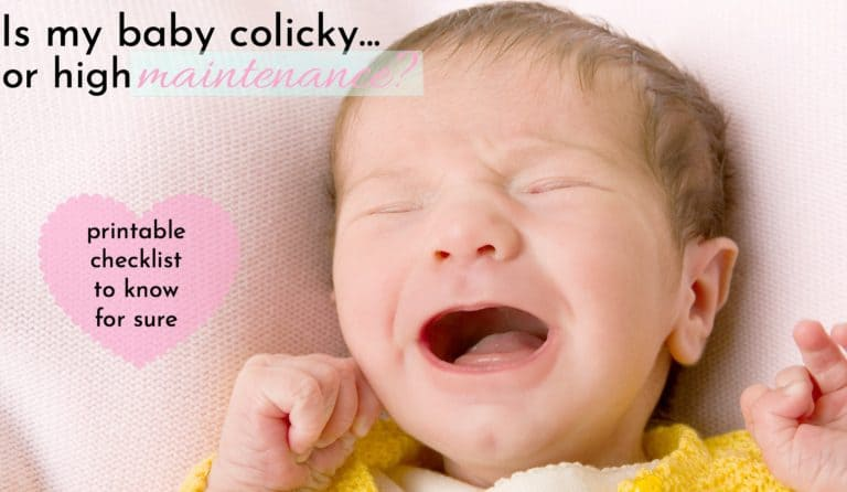 Is My Baby Colicky Or Just High Maintenance?