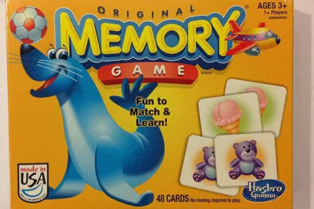 memory best board games for toddlers