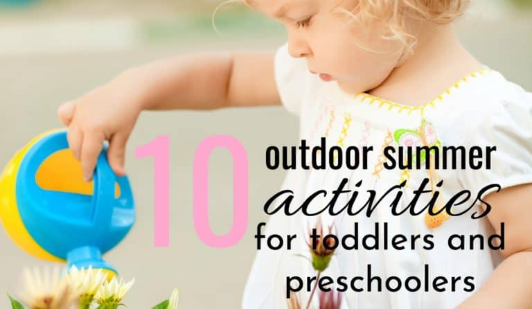 10 Outdoor Summer Activities for Toddlers To Promote Fun and Learning