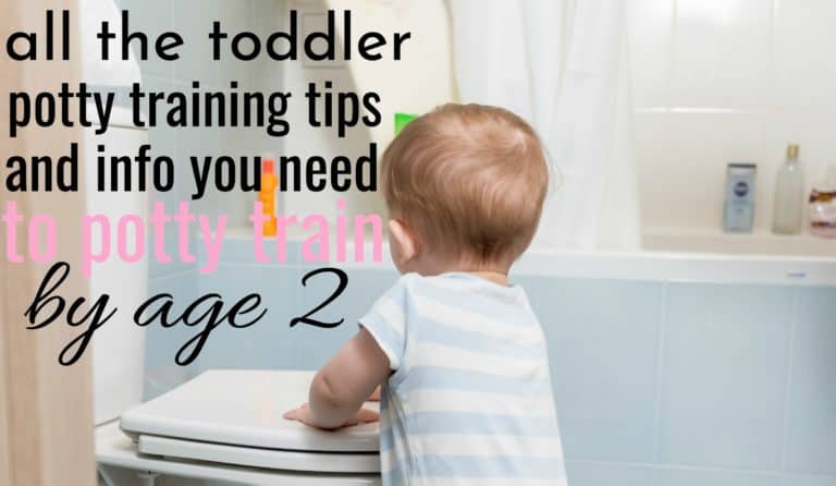 All The Toddler Potty Training Tips And Info You Need To Potty Train By Age 2