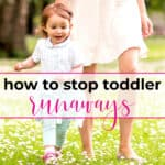 stop toddler from running away