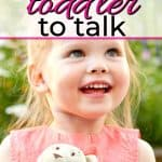 toddler practicing speech development for toddlers by talking on the phone