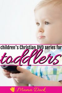toddler or preschooler boy watching the top 5 best christian children's DVD series
