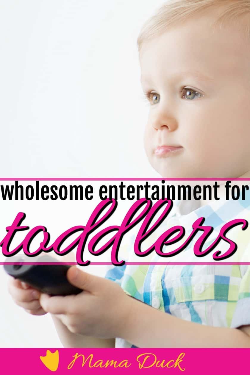 toddler or preschooler boy watching the top 5 best christian children's DVD series