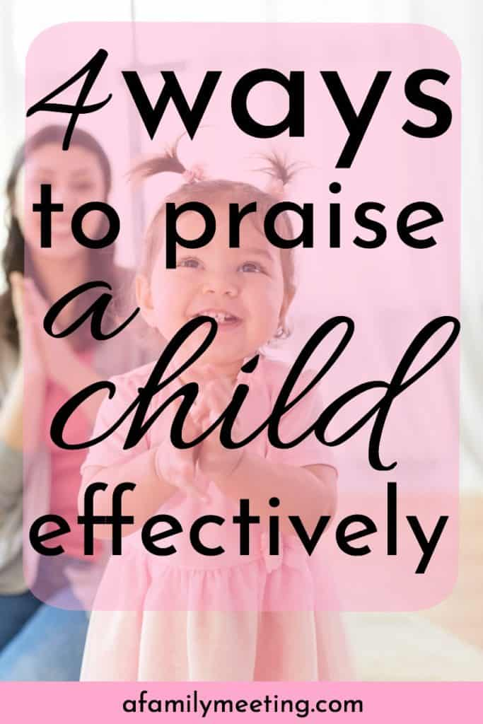 mom and toddler clapping happy when to praise a child