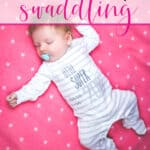 baby laying down unswaddled how to know when to stop swaddling a baby